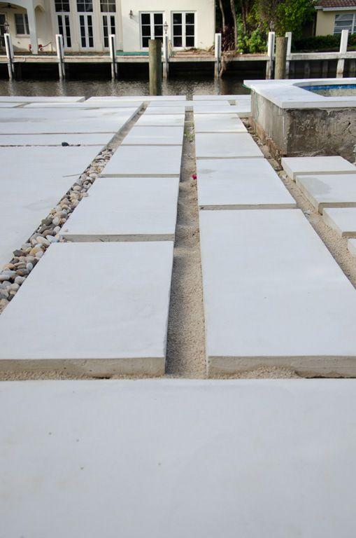 Backyard Concrete Paver Update Pavers Backyard Large Concrete Pavers Diy Driveway