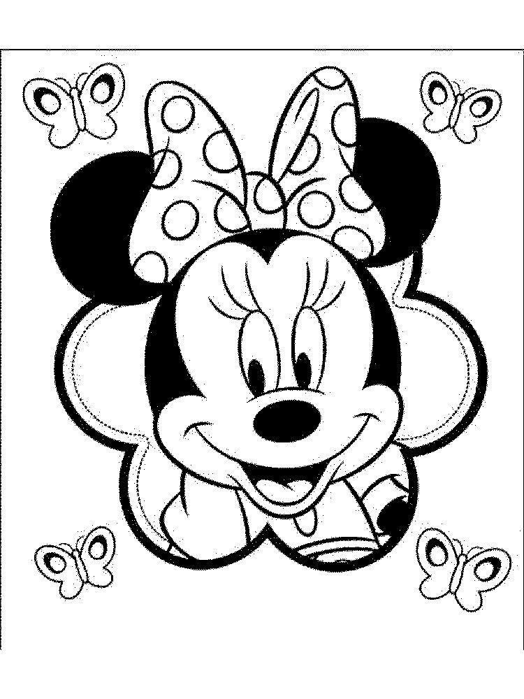 Blank Face Coloring Page Mickey Mouse Coloring Pages Animal