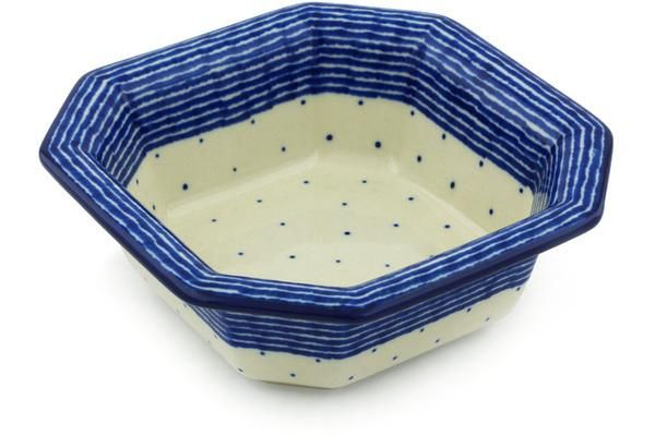 "6"" Octagon Bowl - U9968"