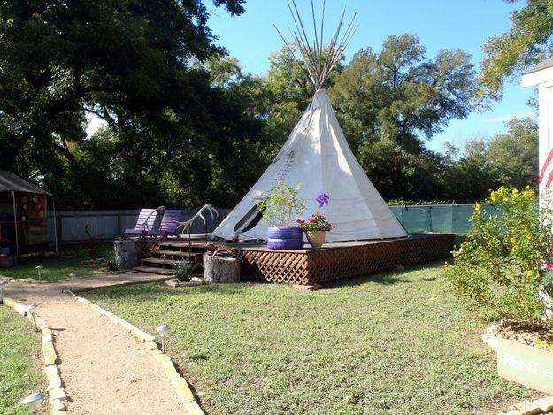 There Are Also Teepees And Mobile Homes On The Property Tiny House Village Succulent Garden Diy Indoor Tiny House