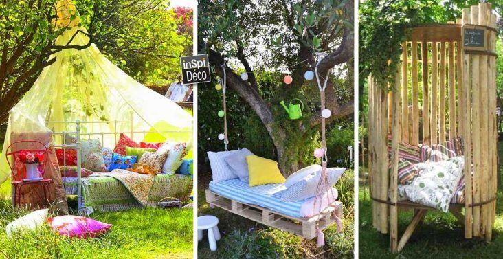 Créations en palettes pour votre jardin! 20 idées Patios