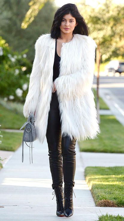 91 Celeb Outfits That Are All About The Coat  Celebrity -7500