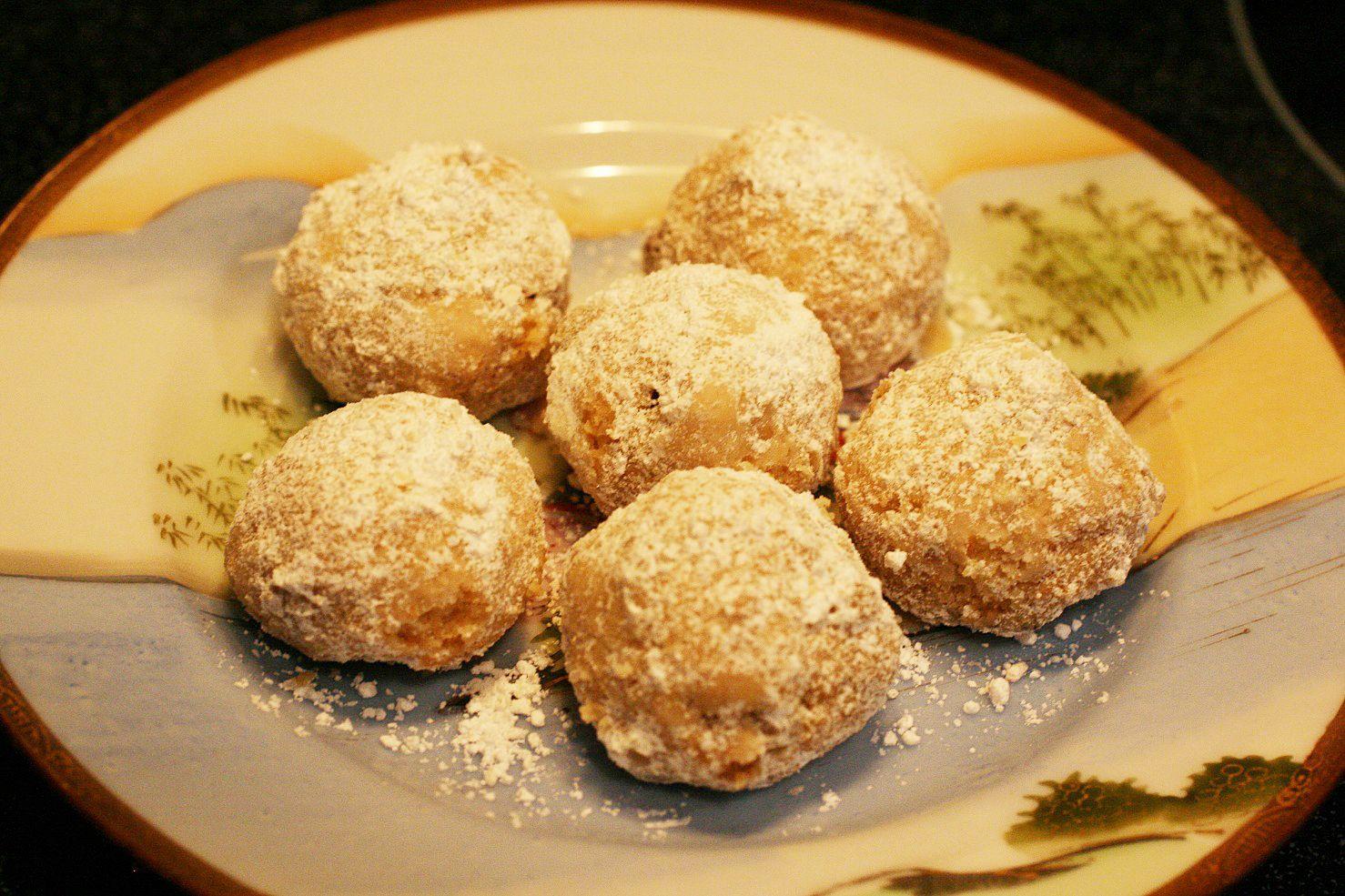 My Mexican wedding cookies recipe Mexican wedding