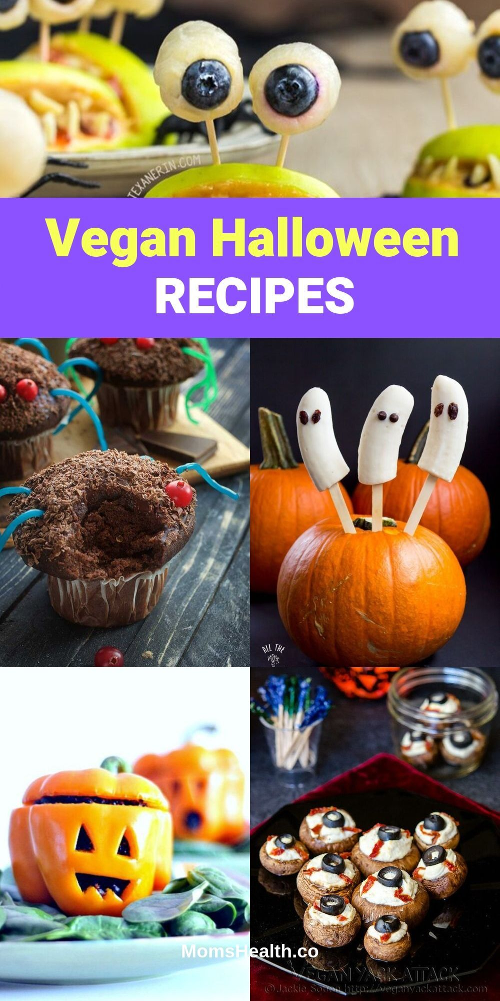 15 Vegan Halloween Recipes - Spooky Vegan Halloween Treats Are you ready for a spooky and fun Halloween night? There is something you might be missing in the list of traditional Halloween party foods - it's some great vegan Halloween recipes! This post will help you add to your table some vegan Halloween treats.#vegan