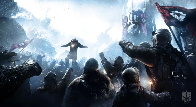 The Art Of Frostpunk Art Game Art Video Game Art
