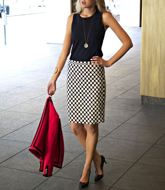 The Classy Cubicle Wear It Three Ways Take One Presentation Day The Fashion Blog For Chic
