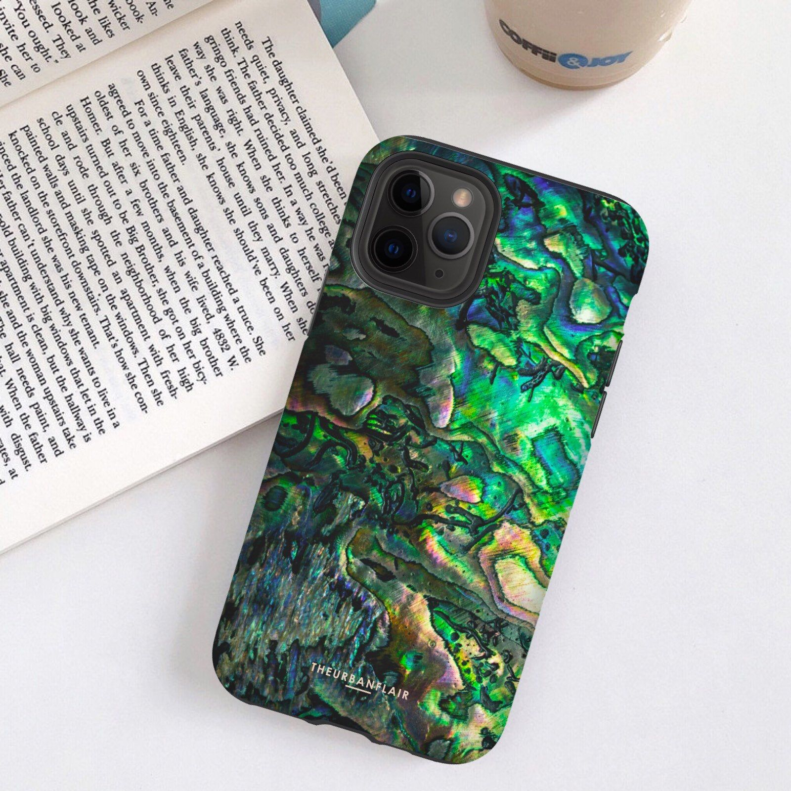 Abalone shell print iphone 11 pro max case iphone 11 pro