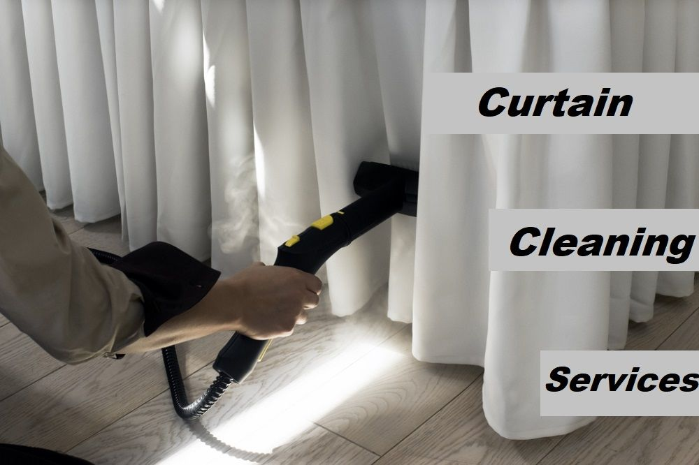 how to clean dry clean only curtains at home