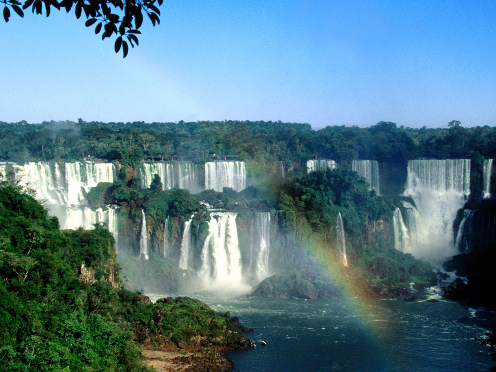 The Iguazu Falls is the mother of all waterfalls. Another border forming falls, this time between Argentina and Brazil, this natural beauty is a symbol of power and boasts a series of impressive waterfalls each one having the height of between 64m to 82m.