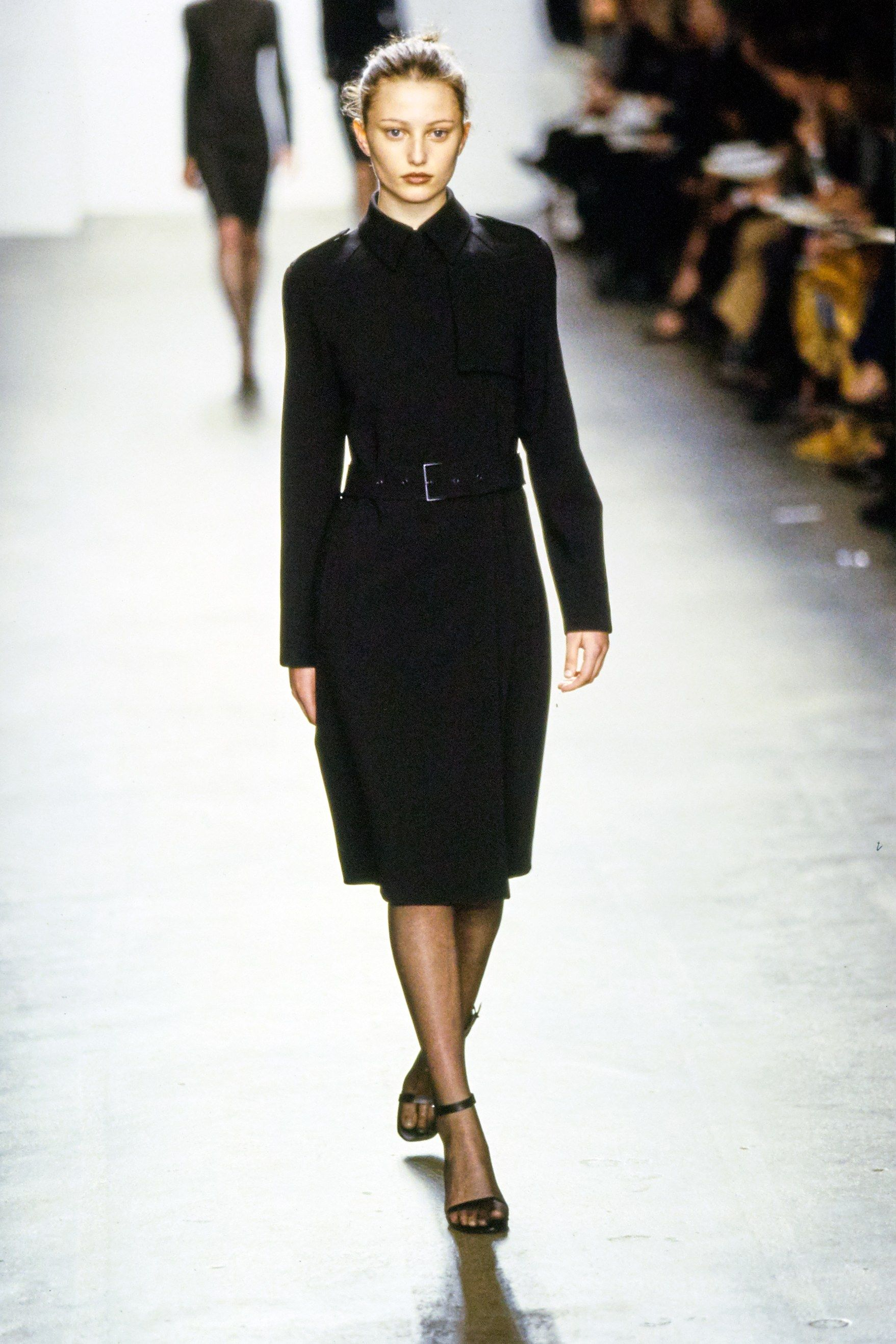 See the complete Calvin Klein Fall 1999 collection and 9 more Calvin Klein shows from the '90s.