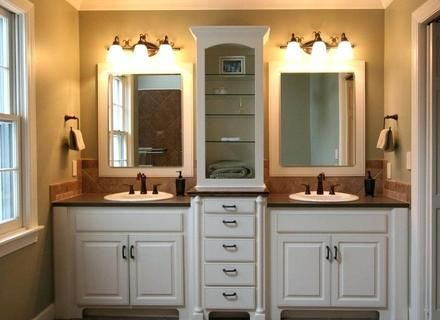 image result for 7 foot bathroom cabinets | modern master