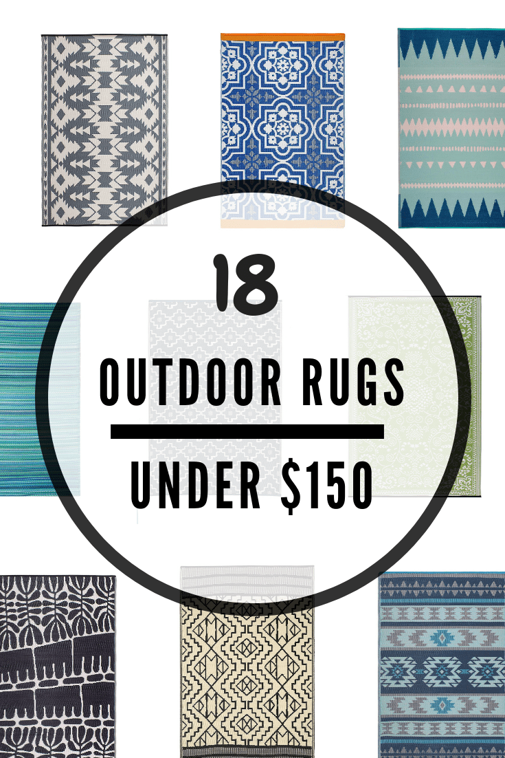 70 Outdoor Rugs Under 150 Colorful Modern Stylish Jessica Welling Interiors Outdoor Rugs Patio Large Outdoor Rugs Patio Rugs