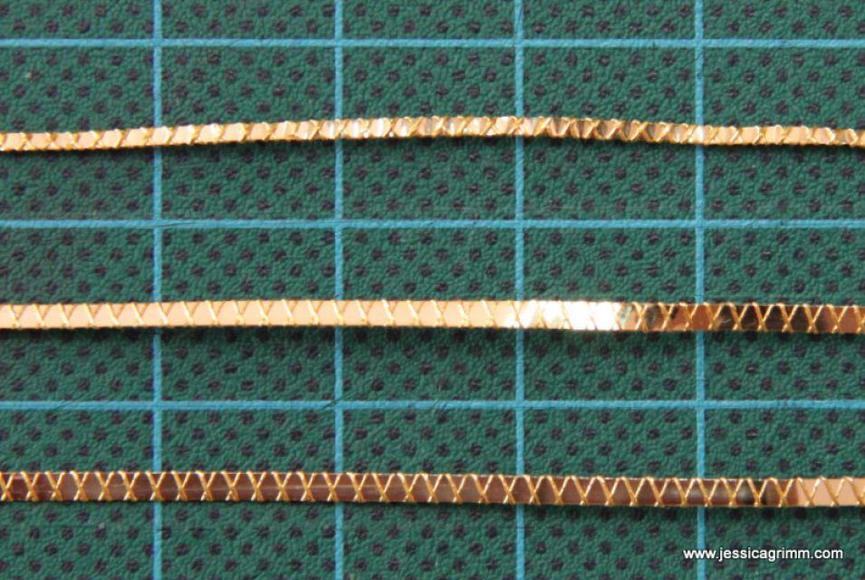 Goldwork gilt threads Goldstickerei Goldfäden