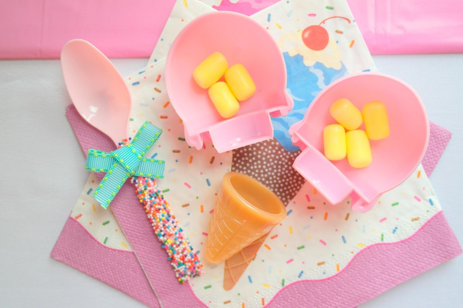 Rainbow Ice Cream Party | Ice Cream Party | Pinterest | Birthdays