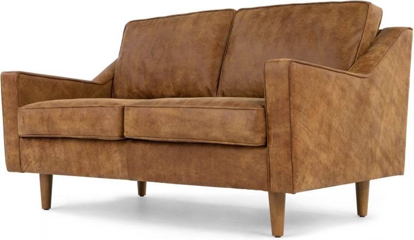 Made Outback Tan Premium Leather Sofa