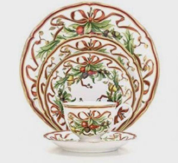 Tiffany holiday plates-6455