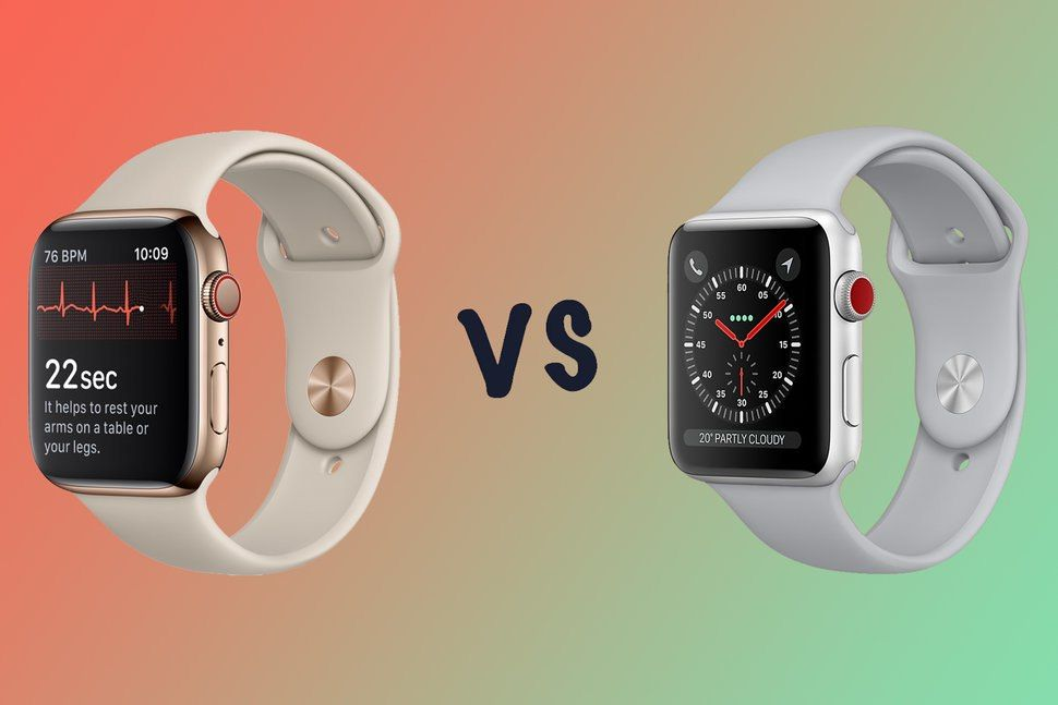 Diplomacia La oficina Travieso  Apple Watch Series 5 vs Series 3: What's the difference? | Apple ...