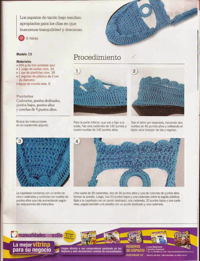 426 Zapatos Azules a Crochet | Crochet - Baby And Kids Shoes 1 ...