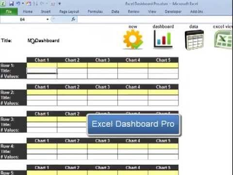 Excel Dashboard Pro Quick Tutorial  Food  Drink