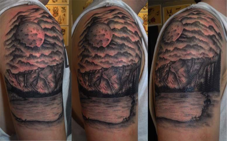 Moon And Cloud Tattoo Small: Moon And Clouds Tattoo Designs - Google Search