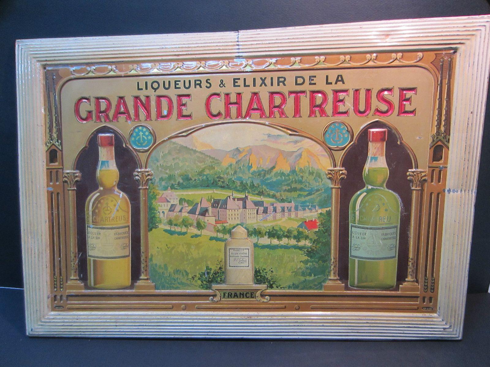 Ancienne plaque en t le promotionnelle aux couleurs de la - Office du tourisme st pierre de chartreuse ...