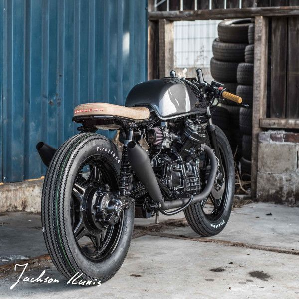 Another Awesome Honda CX500 Brat Cafe Built By Ironwood Custom Motorcycles From Holland Check Out This Radical