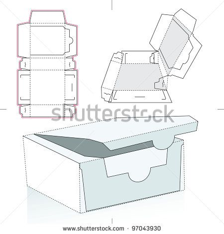 Vector Food Box Template Free Vector For Free Download About 3