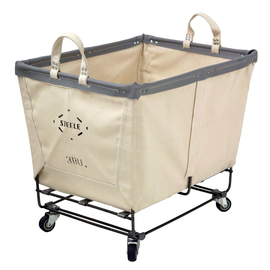 Canvas Small Truck 3 Bu With Images Canvas Laundry Hamper