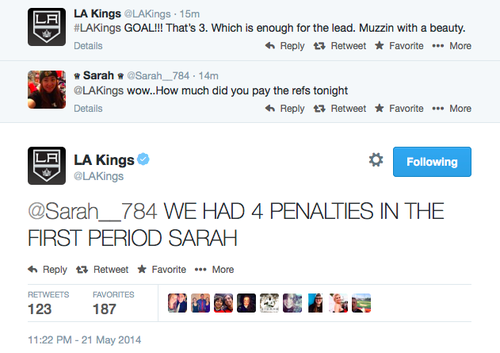 Hate the Kings, love their Twitter