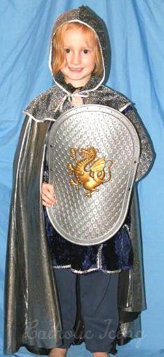 Saint Costume- St. Joan Of Arc   Catholic Crafts/ideas ...