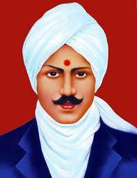 Image result for Image of Bharathiyar