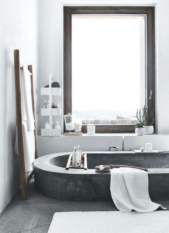 Salle de bain minimaliste #salledebain #SDB #moderne #deco #home ...