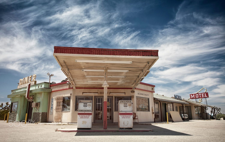 Desert gas station gas station old gas stations mojave