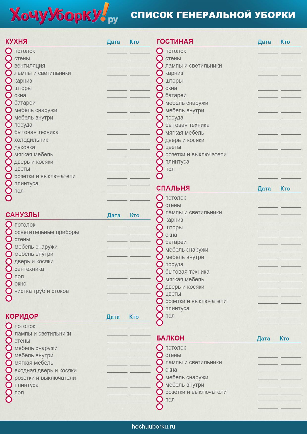 Список бытовой техники для дома список массажер разумовского чертеж