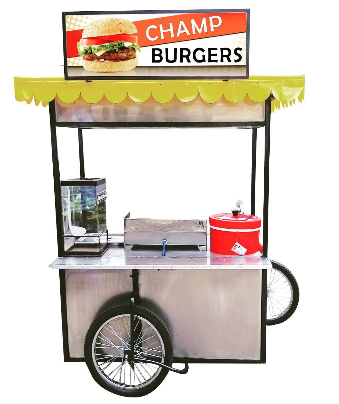 Carrello Portavivande Shabby Burger Mobilecart Business In The Philippines Bike Cart