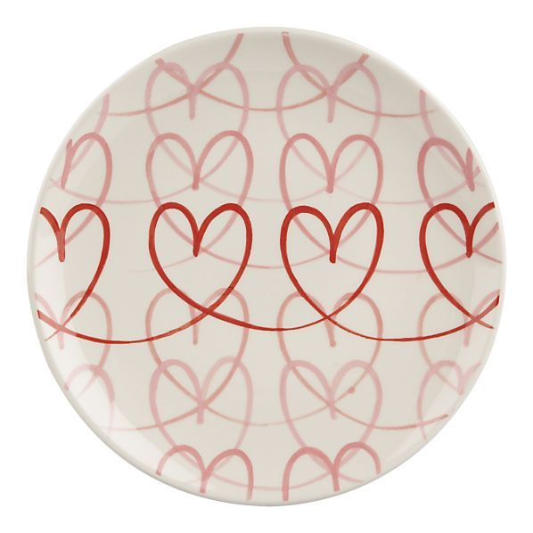 Charming Sweet Heart Plate Design Ideas