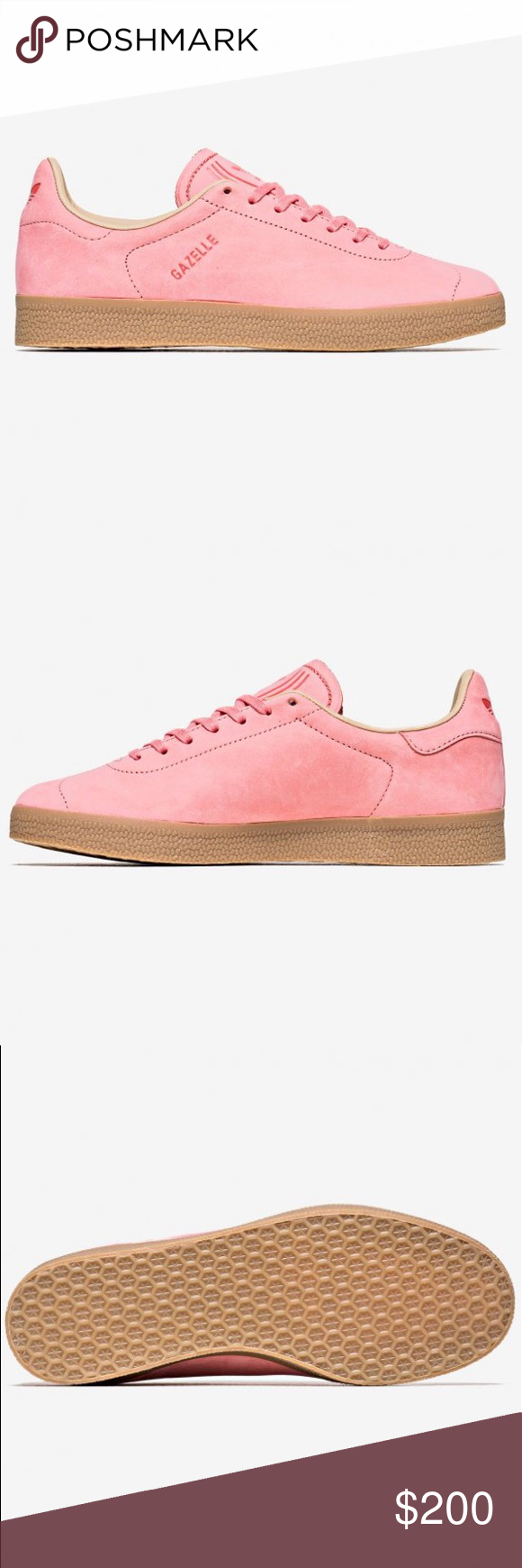 63f89f425431 NWT! Adidas Gazelle Decon Pink Men s 10 Shoes Brand New With Tags ...