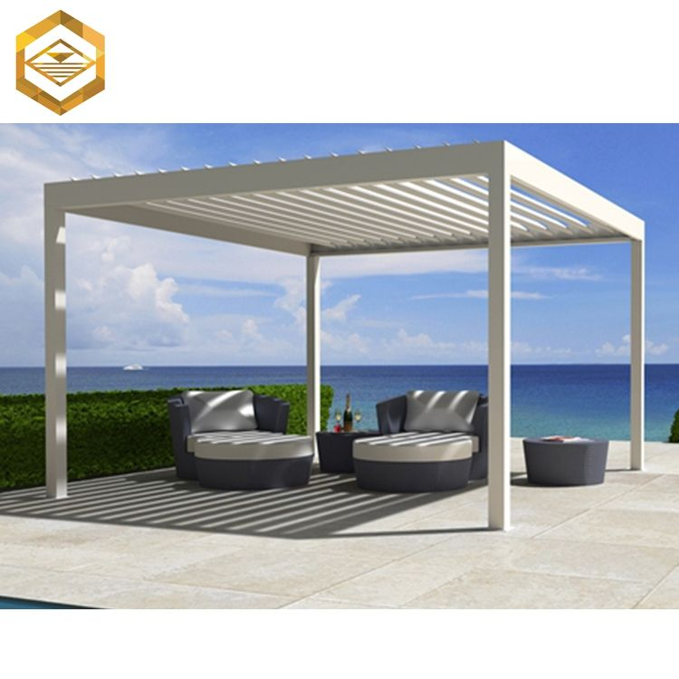 Customize Wood Colored Aluminum Outdoor Pergola Metal Factory , Find  Complete Details About Customize Wood Colored