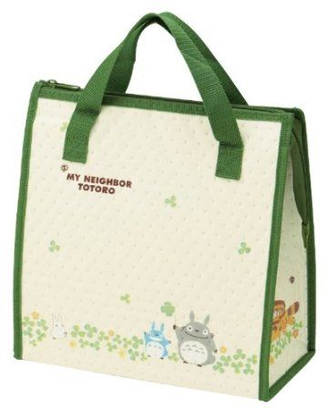 c526a97dce84 Totoro Design Reusable Bento Box Lunch Bag with Thermal Linning ...