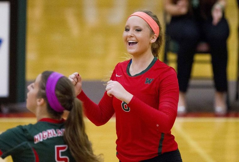 Volleyball The Woodlands Takes Down First Place Summer Creek Woodlands College Park Woodland