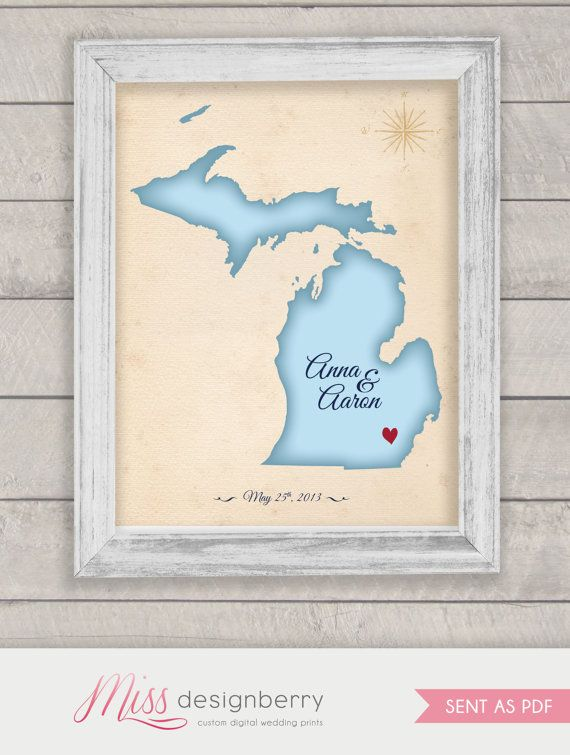 Love This Guestbook Idea A Custom Map With Your Desired Location