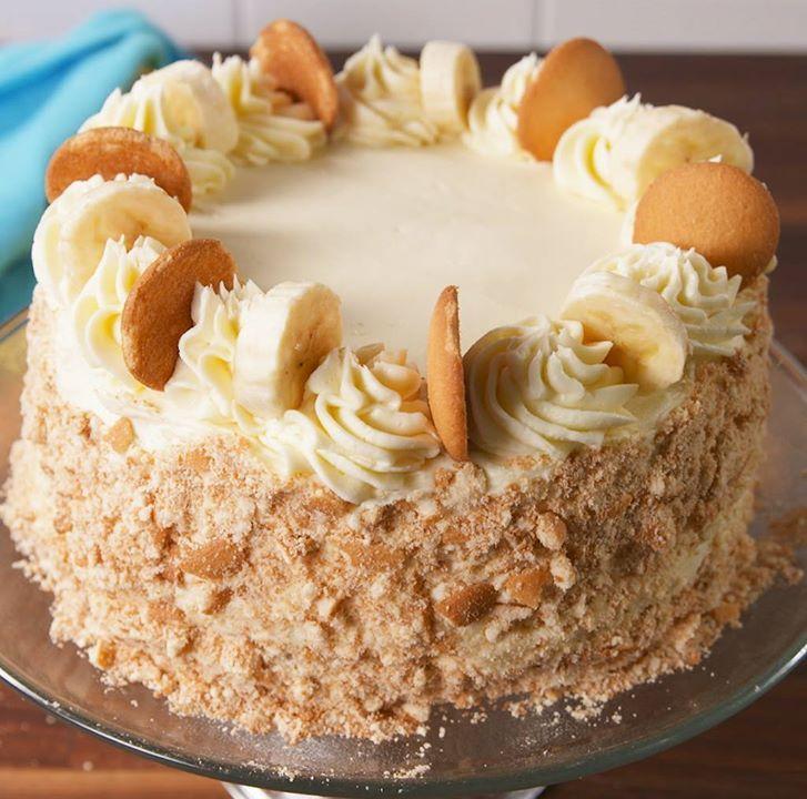Banana Pudding Cake - Cooking TV Recipes