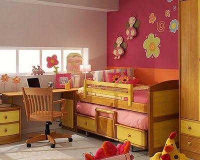Com pitar cuarto de nina 39 s habitacion ni as decoracion - Habitaciones bebe pequenas ...