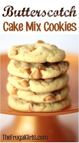 Big list of cake mix cookie recipes!! Yes!!