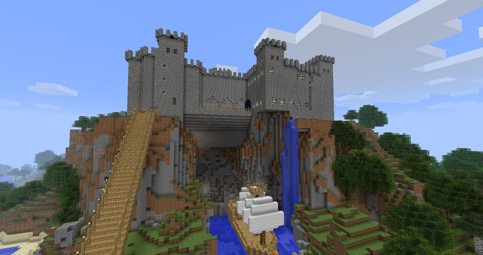 minecraft castles | minecraft castle | minecraft ...
