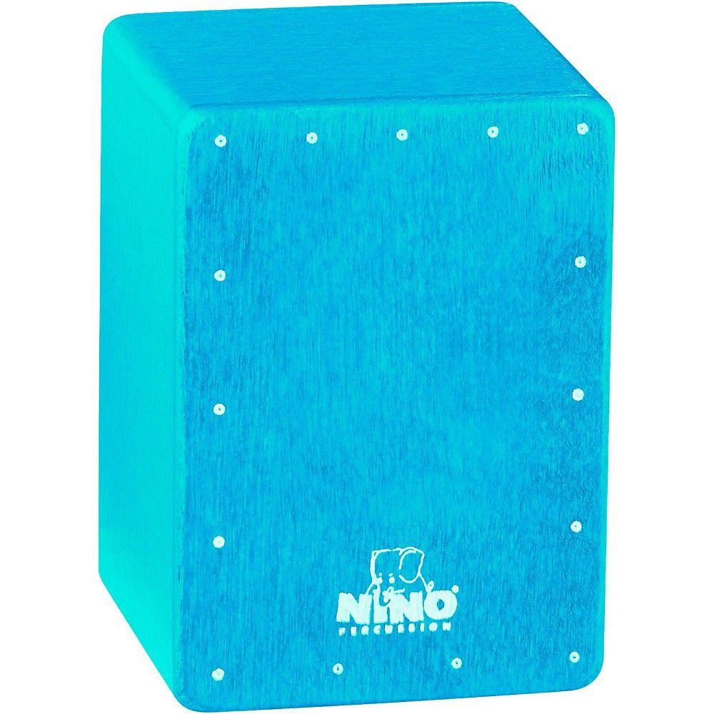 Nino Mini Cajon Shaker Blue