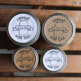 use these free printable canning jar labels to liven up your canned