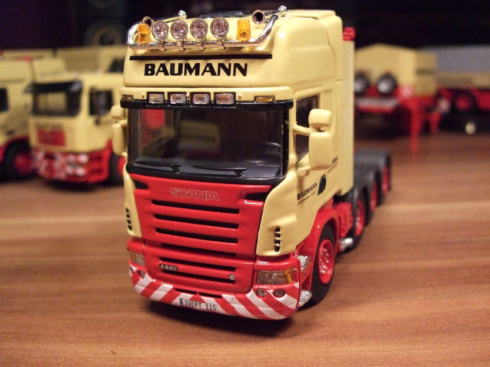 Baumann Modelle Floing Baumann Modelle Modell Mercedes Actros Schwertransport