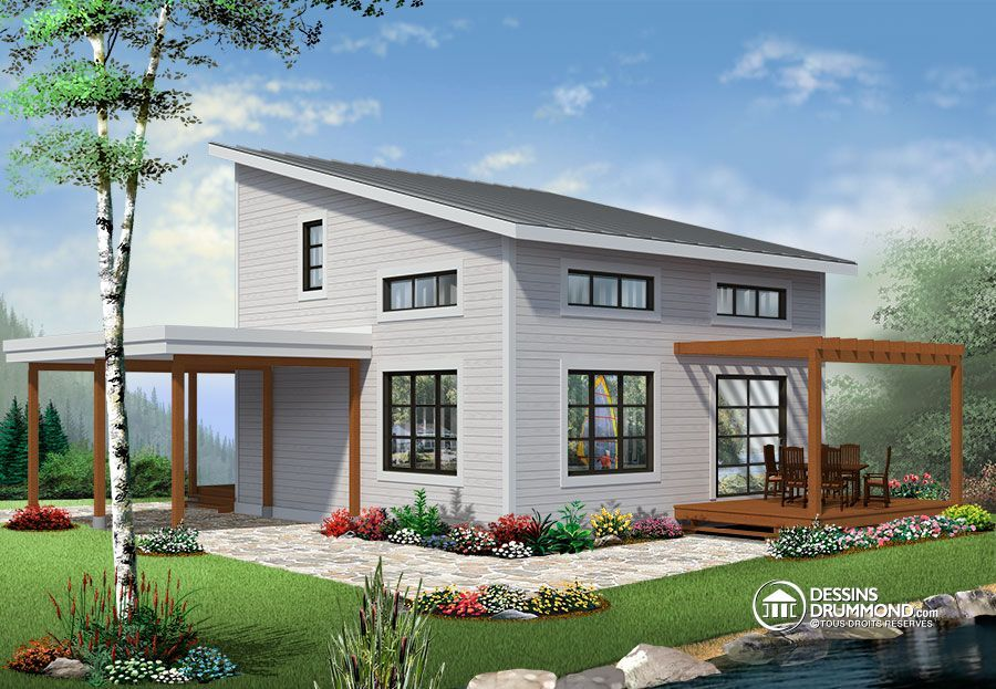17 Best 1000 images about Small house plans Affordable Home Plans on