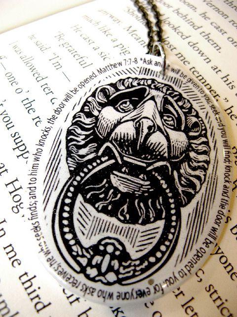 Knock Scripture Verse  Necklace